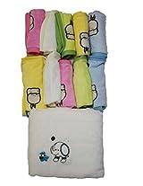 belle maison Baby Super Soft Towel(Velour) , Baby Napkin + Bib Set (5+5)