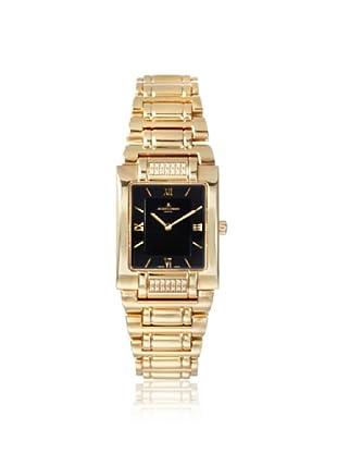 Jacques Lemans Women's GU117K Gloria Gold/Black Stainless Steel Watch