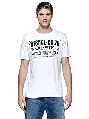 Diesel Camiseta T-Nuck-R (Blanco)