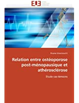 Relation Entre Osteoporose Post-Menopausique Et Atherosclerose