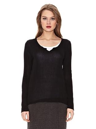 Assuili Camiseta Tunisien (Negro)