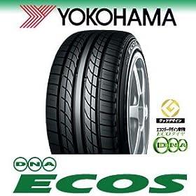 【クリックで詳細表示】YOKOHAMA(ヨコハマ) ECOS ES300 155/70R13 75S 低燃費タイヤ: カー&バイク用品