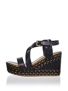 Ash Women's Vanille Platform Sandal (Black)