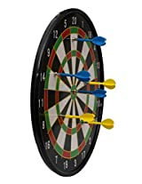 INTERNATIONAL MAGNETIC DART BOARD 18' WITH 6 DARTS (ROUND)