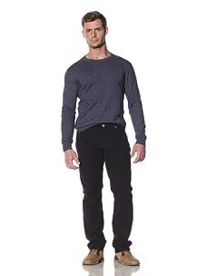 Benson Men's Berkeley Retro Corduroy Pants (Dark Navy)