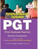 KVS (Kendruya Vidyalaya Sangathan) PGT (Post Graduate Teacher) Selection Examination