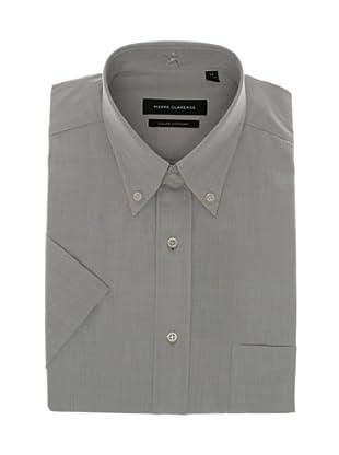 Pierre Clarence Camisa de manga corta (Gris)