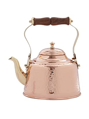 Old Dutch International Copper 2-Qt. Hammered Teakettle
