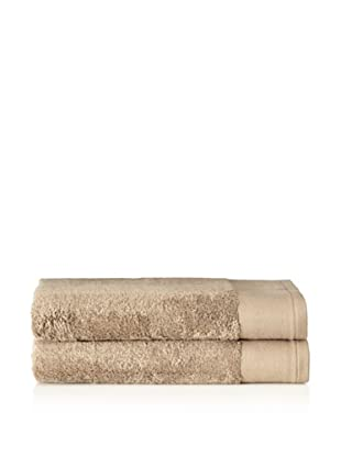 Schlossberg Set of 2 Interio Bath Towels, Sand