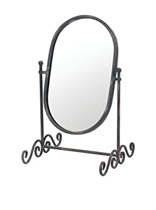 Skalny Oval Metal Mirror