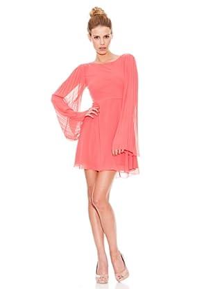 Rare Vestido Chiffon (Coral)