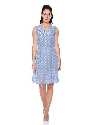 UNQ Kleid (Blau Print)