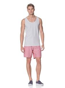 Rhythm Men's Pinner Knit Tank (White)