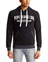 Pepe Jeans Men's Hooded Cotton Sweatshirt