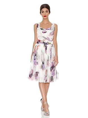 Dolce&Gabbana Vestido Caldana (Blanco / Violeta)