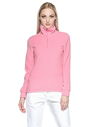 F.lli Campagnolo Damen Fleece Sweater (Rosa)