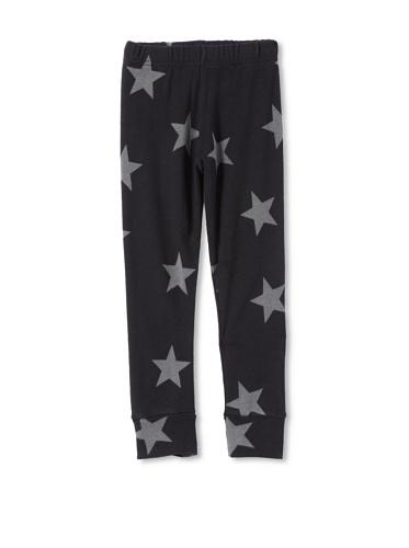 NUNUNU Kid's Star Leggings (Black)