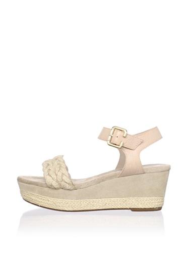 Gunmetal Women's Lauren Platform Sandal (Taupe)