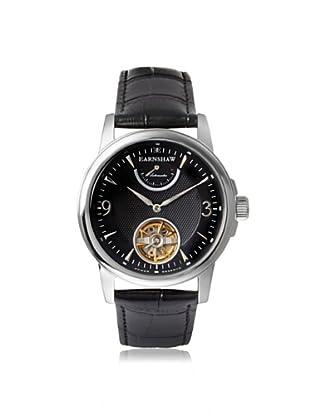 Earnshaw Men's 8014-01 Flinders Black Stainless Steel Watch