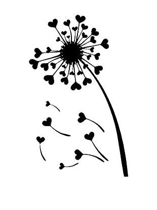 Ambiance Sticker Wandtattoo Hearts Dandelion
