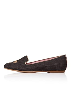 Bisue Slippers Lis (Negro)