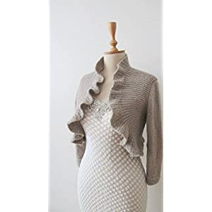 HighKnit Flared Collared Shrug