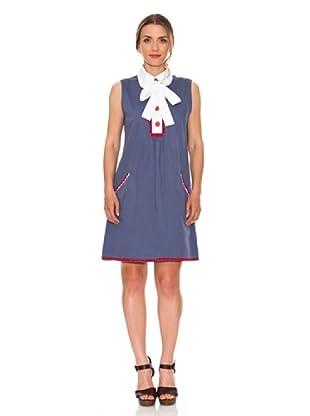 Strena Vestido Sin Mangas (Azul)