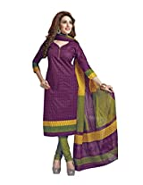Suhanee Womens Cotton Unstitched Dress Material (Suhanee`S Exclusive Shivanee 1120 _Multi-Coloured)