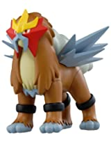 Pokemon Japanese Black White 6 Inch Vinyl Figure Entei