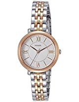 Fossil Jacqueline Analog Silver Dial Women's Watch - ES3847I
