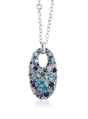 JOOP! Halskette 85889540 silber/blau