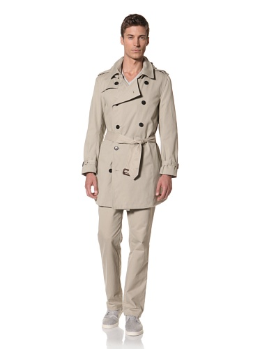 Hyden Yoo Men's Trench (Khaki)