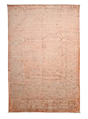 Solo Rugs Ziegler One-of-a-Kind Rug, Orange, 6' 7