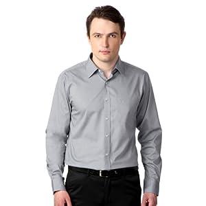 Allen Solly Men Regular Fit Shirt_AMSF1S00728_44_Grey
