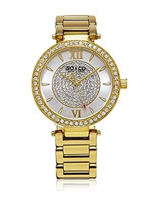 SO & CO New York Uhr mit japanischem Quarzuhrwerk Woman GP16010 38 mm