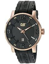 CAT Grey Dial Analog Silicone Strap Men's Watch NJ.191.21.139