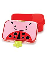 Skip hop Zoo 4 Piece Lunch Kit - Ladybug (Multicolor)