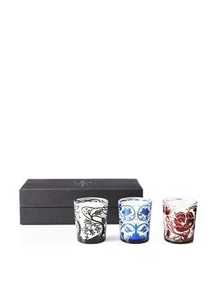 D. L. & Co. Set of 3 3-Oz. Mini Votive Gift Set