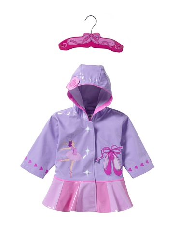 Kidorable Ballet Raincoat (Pink)