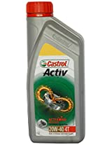Castrol Activ 20W-40 Petrol Engine Oil for Two Wheelers (1 L)