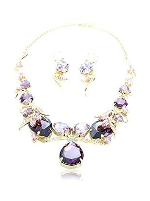 Jsb Jewelry Made With Swarovski Elements Set Kette und Ohrringe
