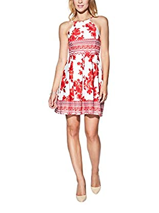 Candy Kleid Pleated With Floral Print