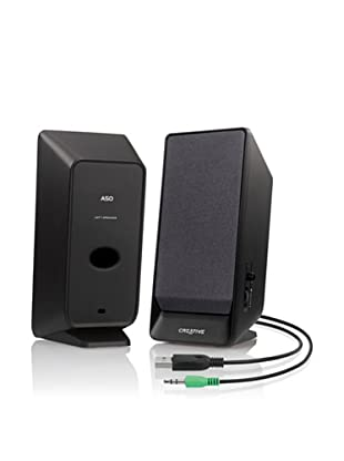 Creative Labs A50 - Altavoces portátiles (2.0, 70 Db, 1.6 W, 100 - 15000 Hz)