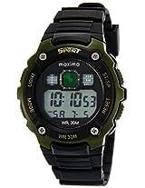 Maxima Digital Black Dial Men's Watch - 28730PPDN