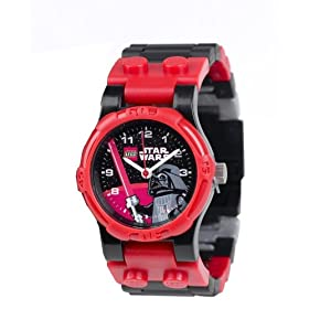 LEGO WATCH (レゴ ウォッチ) 腕時計 StarWars スター・ウォーズ Darth Vader 2907 STW DV
