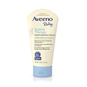 Aveeno Baby Eczema Therapy Moisturizing Cream 5 Ounce