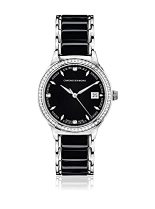 Chrono Diamond Reloj con movimiento cuarzo suizo Woman 10410D Thyrsa 34 mm