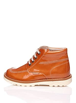 Pablosky Stiefel Lackleder (Orange)
