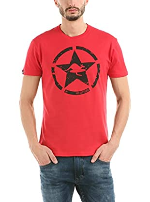 Hot Buttered T-Shirt Circle Star