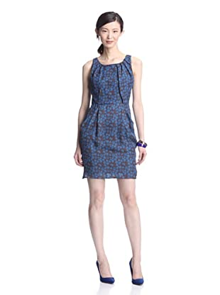Eva Franco Women's Pamela Rose Print Dress (Daphne)